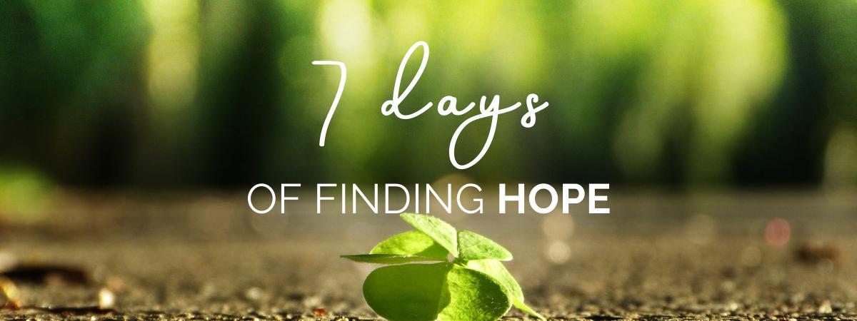 Finding Hope Header Image