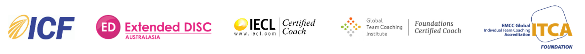 ICF | Extended DISC | IECL Certified Coach | Global Team Coaching Institute Foundations Certified Coach |